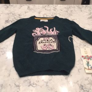 Mini Boden Rare Ronald Dahl The Twits sweater 7-8